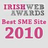 Irish Web Awards - Best SME site Winner