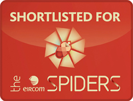Shortlisted Eircom Spider 2010 Awards
