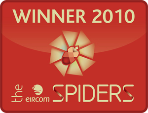 Retail Excellence Winner at the Eircom Spider Awards