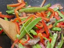 Stir Fry Beef with Beans and Chilli