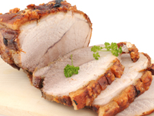 Roast leg of Pork