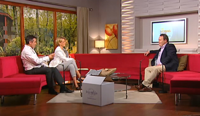 Pat Whelan on TV3 Morning Show