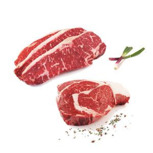 Wagyu Striploin and Ribeye Steaks