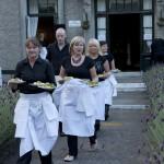 James Whelan Butchers Starters being served up