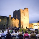 James Whelan Butchers Long Table Dinner 2008 - Cahir Castle Diners in the Courtyard