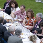 James Whelan Butchers Long Table Dinner 2008 - Birds Eye View of the Long Table Diners
