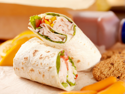 Healthy Tortilla Wrap