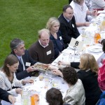 James Whelan Butchers Long Table Dinner 2008 - Guests Enjoying Local Food Together