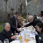 James Whelan Butchers Long Table Dinner 2008 - T.D. Tom Hayes enjoying local food