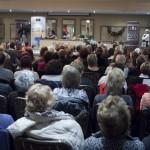 Audience watching Rachel Allen's Cookery Demonstration