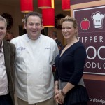 Tipperary Food Producers Gary Gubbins and Pat Whelan with Rachel Allen
