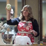 Food Blogger and Friend of James Whelan Butchers Imen McDonnell Buttermaking
