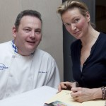 Pat Whelan of James Whelan Butchers and Rachel Allen