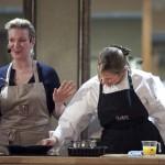 Rachel Allen with Tipperary Food Producer Sarah Baker
