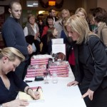 Rachel Allen booksigning at the Tipperary Food Extravaganza 2011