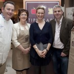 Pat Whelan, Nora Egan and Gary Gubbins with Rachel Allen