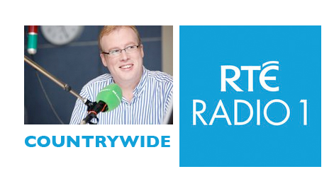Pat Whelan on Radio 1 Countrywide with Damien O'Reilly