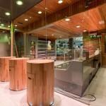 James Whelan Butchers New Shop Chopping Blocks