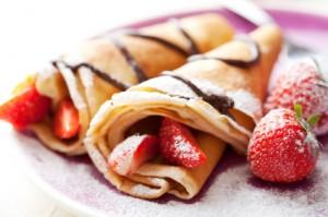 Pancake indulgence on Shrove Tuesday