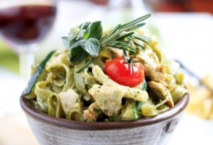 Chicken and Basil Pesto