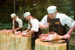 James Whelan butchery courses at our new shop in Monkstown