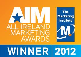 All Ireland Marketing Awards Winner 2012