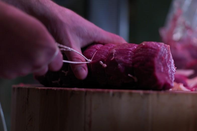 Great skill at James Whelan Butchers