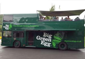 The Big Green Egg Double Decker Rolls into Clonmel
