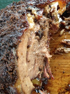 9 Hour Slow Cooked Brisket on the Bone