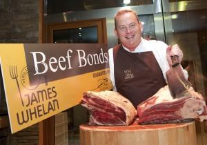Pat Whelan Launches James Whelan Butchers Beef Bonds