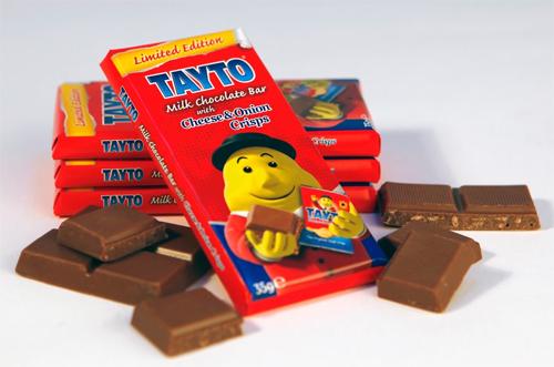 Tayto chocolate bar