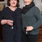 Katy McGuinness and Elaine Walsh