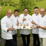 Irish Beef Club chefs in Brussels