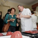 Pat at the Irish Beef Masterclass in Brussels