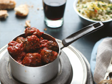 Spanish Meatballs in a Tomato Sauce