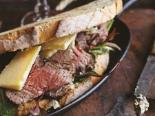 Truffled Fillet of Beef and Hegartys Cheese Sandwich