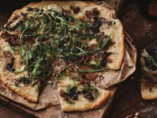 James Whelan Butchers - Oxtail & Truffle Pizza from The Irish Beef Book