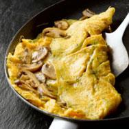 mushroom-omlette