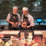 Donnacha and Thomas dressing the counter at Cornelscourt