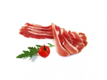 7 Dry Cured Streaky Rashers - Green